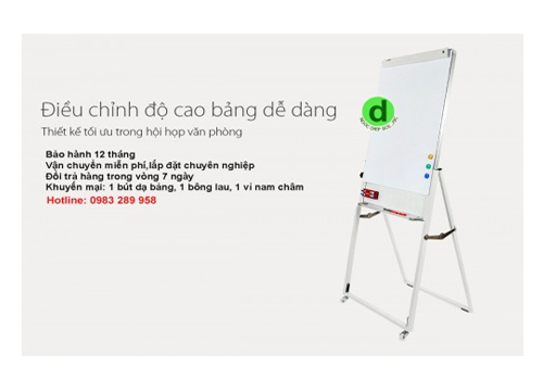 Bảng Flipchart up side down kt 0.7x1.0m